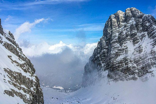 Eine rassige Skitour auf das dritte Watzmannkind