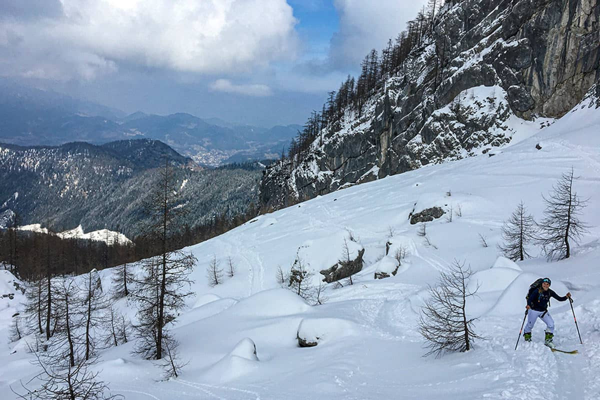Watzmann Kar Skitour