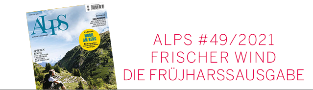 Alps Magazin Cover / Frühjahr 2021 Ausgabe #49