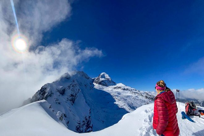 Skitour Stuibenkopf und Stuibenhütte