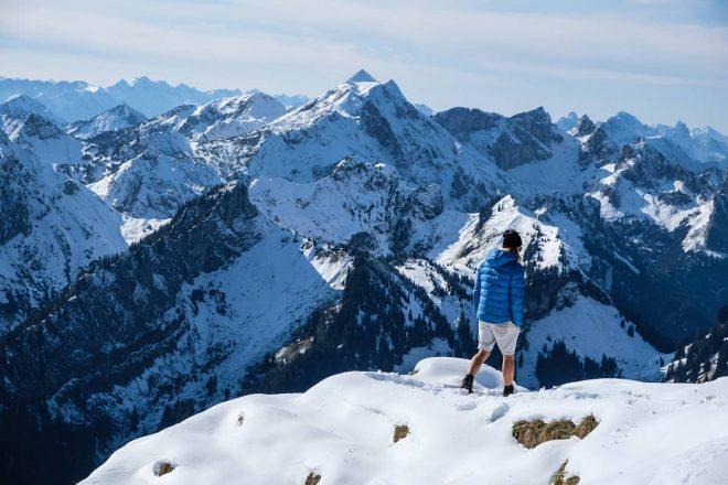 Eine landschaftlich reizvolle Bergtour über die Brunnenkopfhütte hinauf zur Großen Klammspitze bis zum Feigenkopf