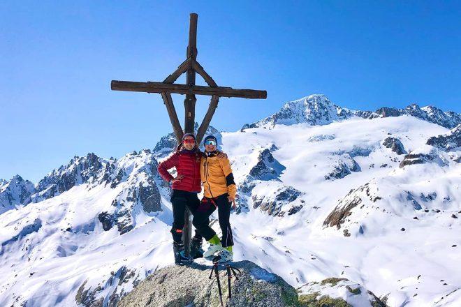 Schweizer Skitourenparadies am Furkapass