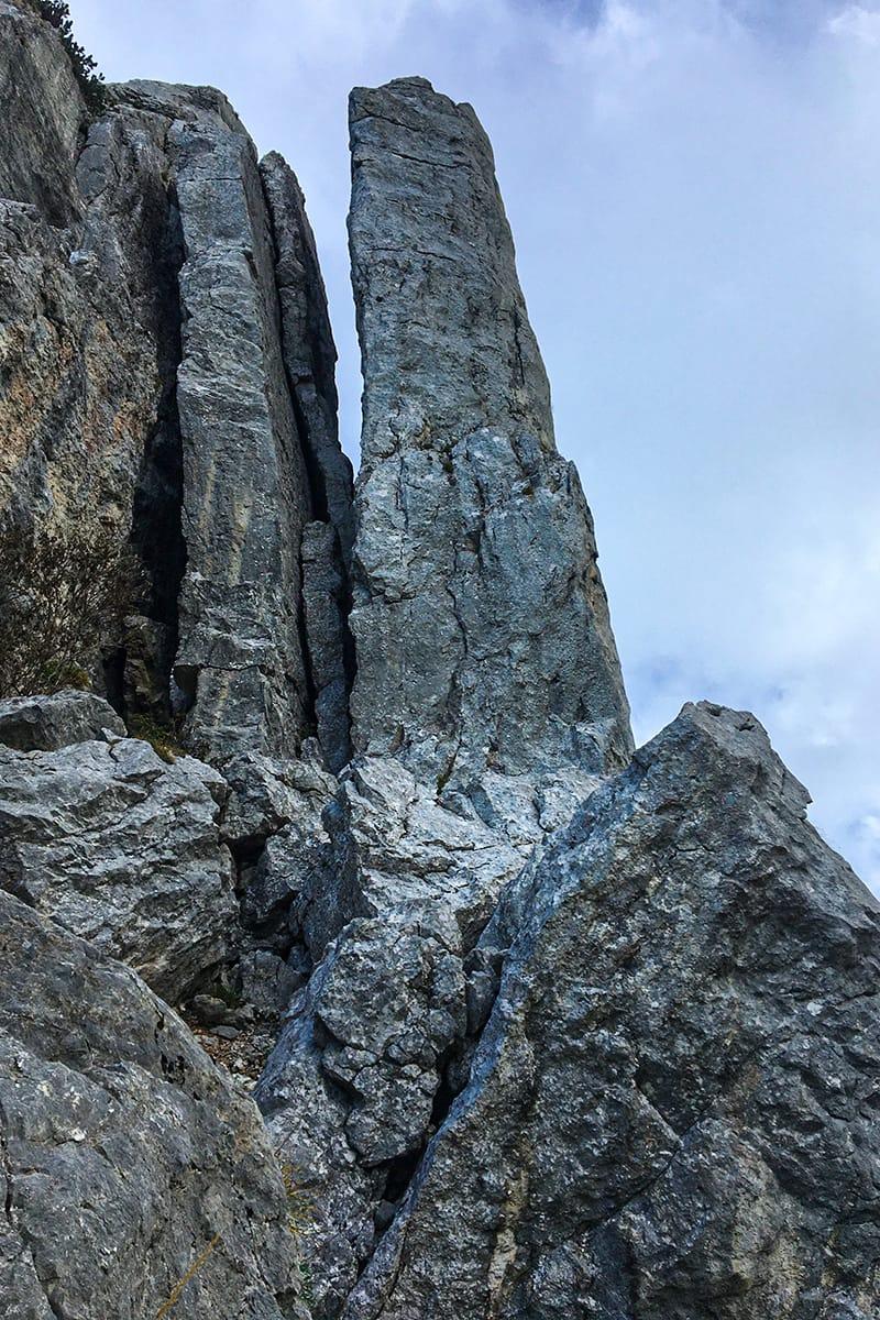 Über die Westrinne auf den Blankenstein – Eine Wandertour in den Bayerischen Voralpen nahe dem Tegernsee