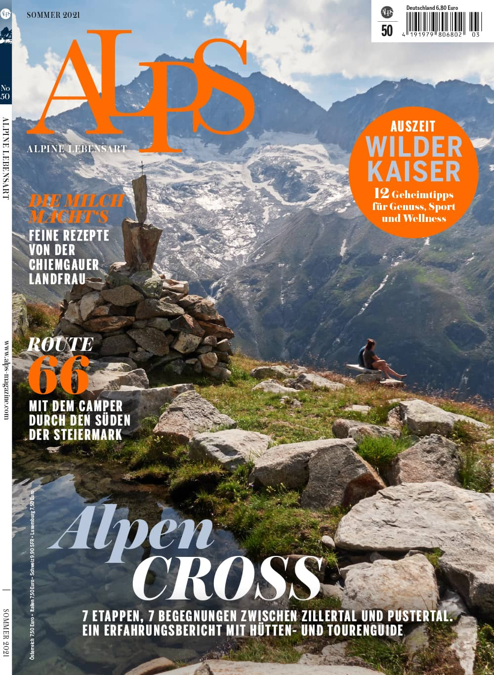 ALPS #50 / Sommer 2021 / Cover