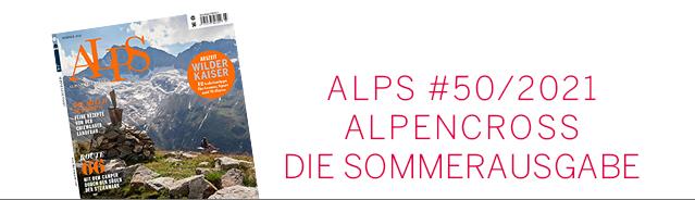 Alps Magazin Cover / Sommer 2021 Ausgabe #50