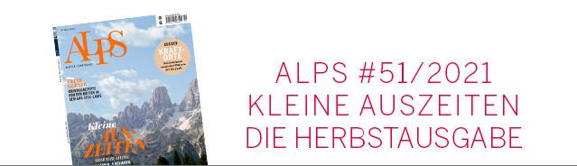 Alps Magazin Cover / Herbst 2021 Ausgabe #51