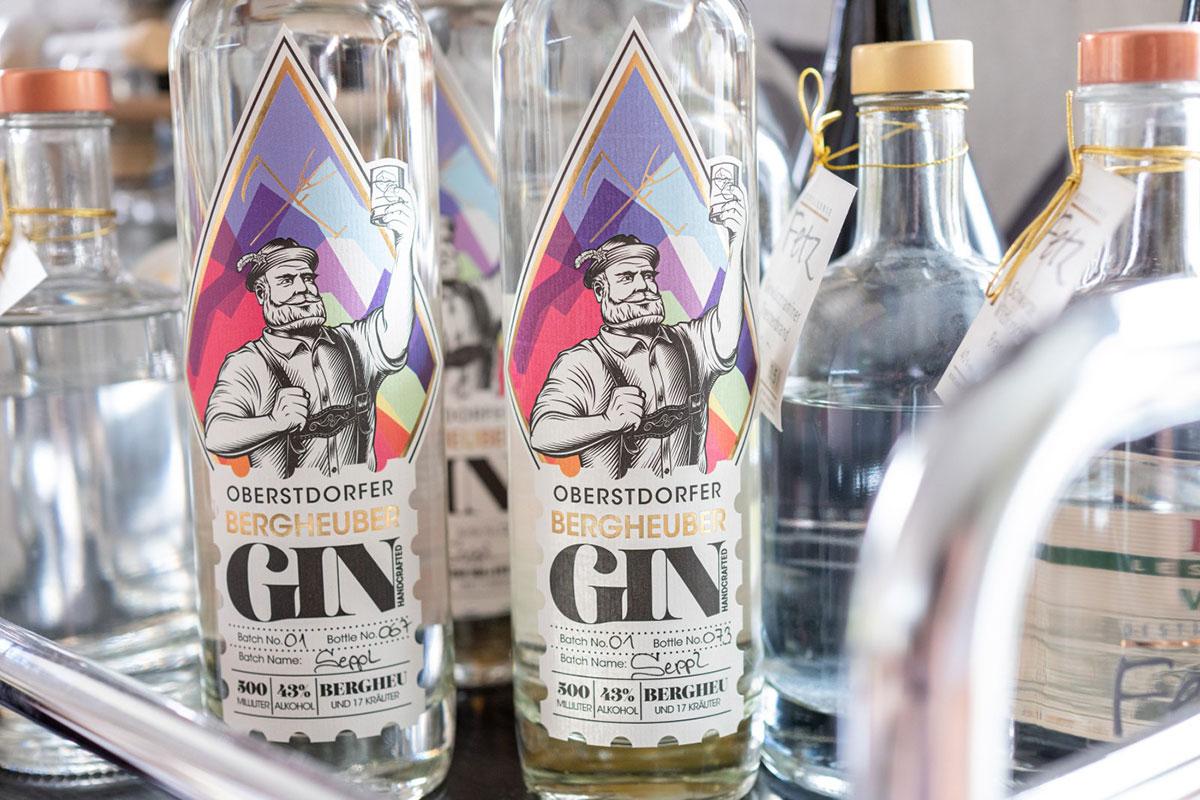 Oberstdorfer Bergheuber Gin